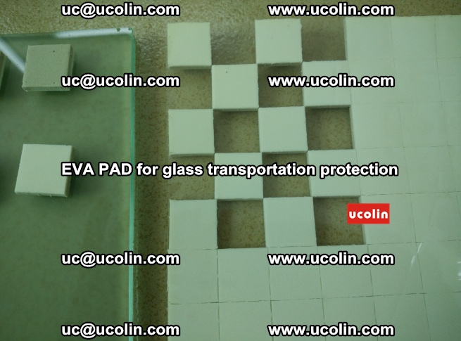 EVA PAD for safety laminated glass transportation protection (103)