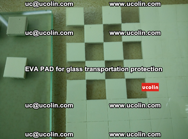 EVA PAD for safety laminated glass transportation protection (106)