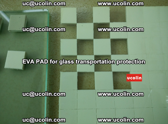 EVA PAD for safety laminated glass transportation protection (109)