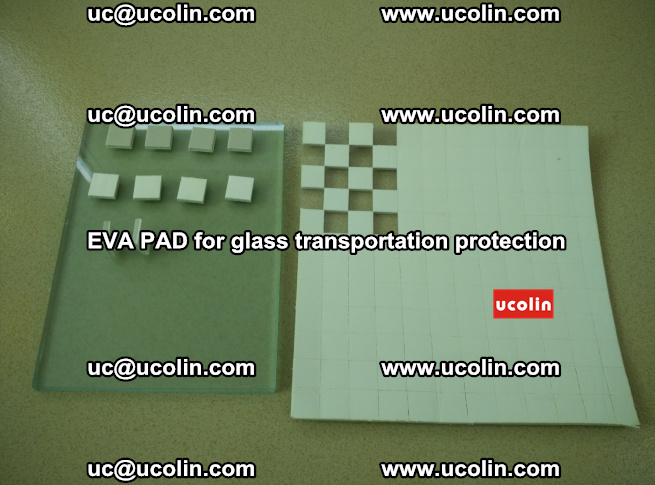 EVA PAD for safety laminated glass transportation protection (11)