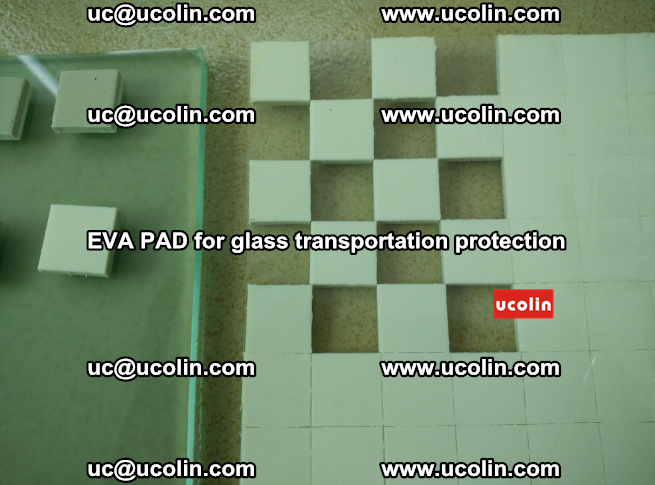 EVA PAD for safety laminated glass transportation protection (112)