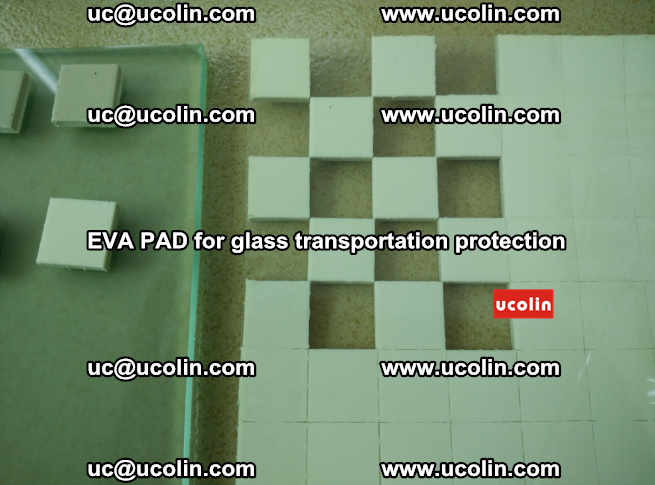 EVA PAD for safety laminated glass transportation protection (113)
