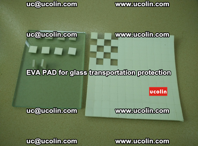 EVA PAD for safety laminated glass transportation protection (15)