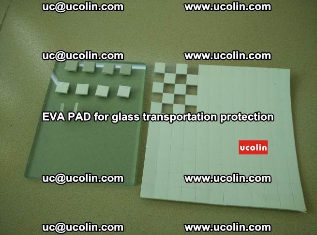EVA PAD for safety laminated glass transportation protection (2)