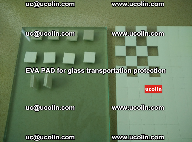 EVA PAD for safety laminated glass transportation protection (20)
