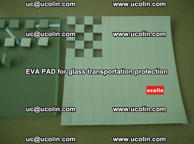 EVA PAD for safety laminated glass transportation protection (23)