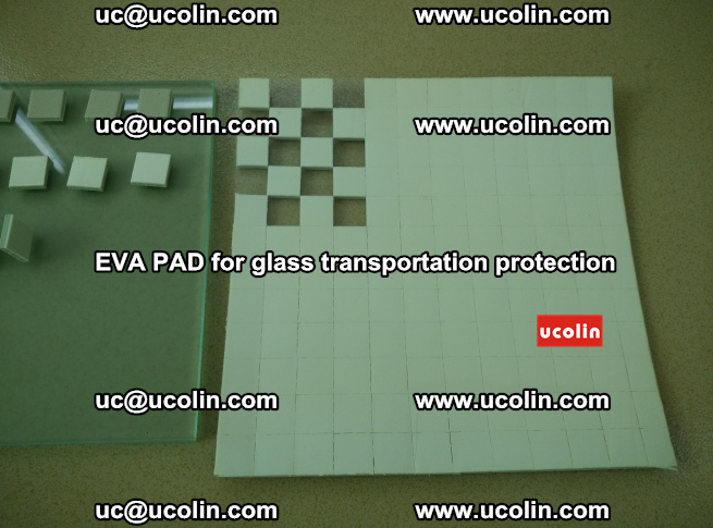EVA PAD for safety laminated glass transportation protection (25)