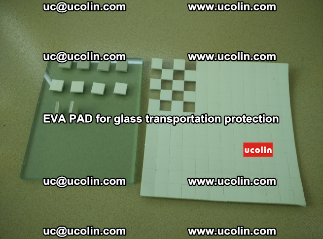 EVA PAD for safety laminated glass transportation protection (4)