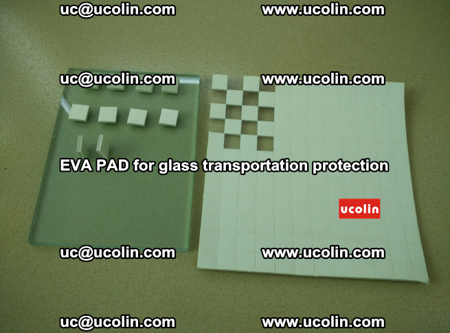 EVA PAD for safety laminated glass transportation protection (5)