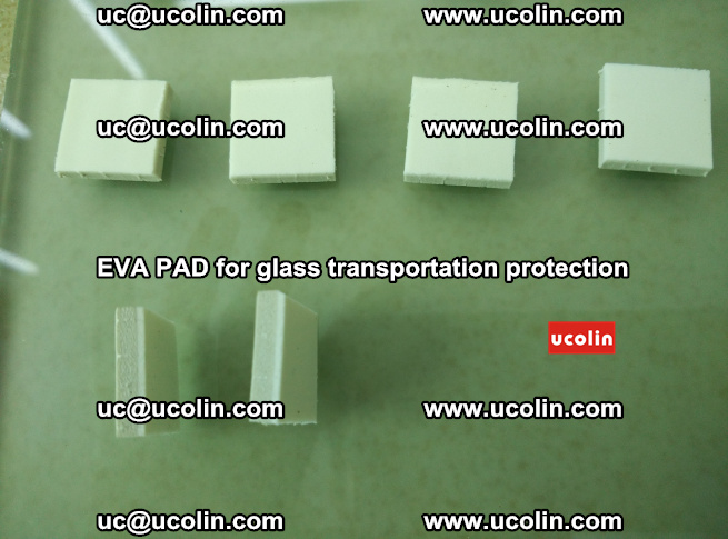 EVA PAD for safety laminated glass transportation protection (70)