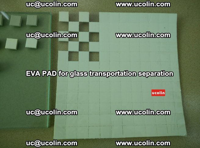 EVA PAD for safety laminated glass transportation separation (7)