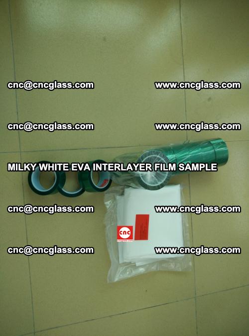 EVA FILM SAMPLE, MILKY WHITE, FOR SAFETY GLAZING, EVAVISION (17)