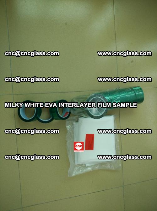EVA FILM SAMPLE, MILKY WHITE, FOR SAFETY GLAZING, EVAVISION (18)