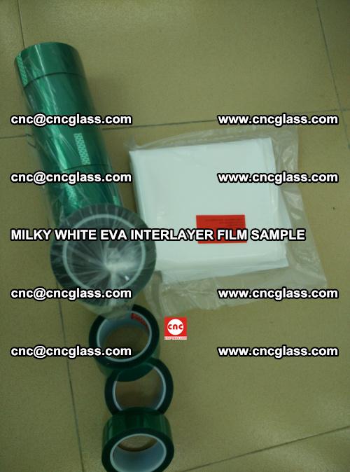 EVA FILM SAMPLE, MILKY WHITE, FOR SAFETY GLAZING, EVAVISION (43)