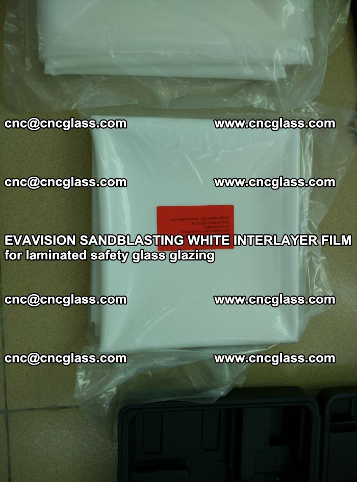 EVAVISION SANDBLASTING WHITE INTERLAYER FILM for laminated safety glass glazing (11)