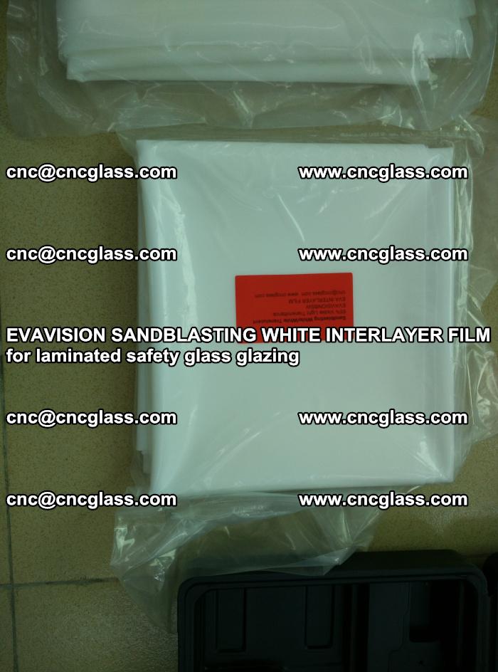 EVAVISION SANDBLASTING WHITE INTERLAYER FILM for laminated safety glass glazing (14)