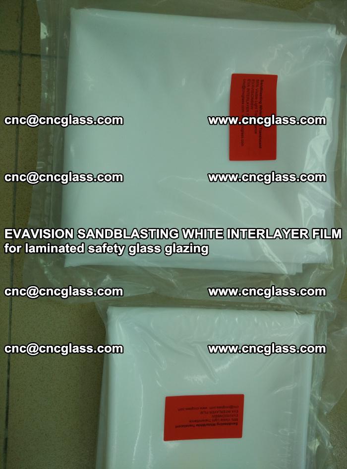 EVAVISION SANDBLASTING WHITE INTERLAYER FILM for laminated safety glass glazing (16)