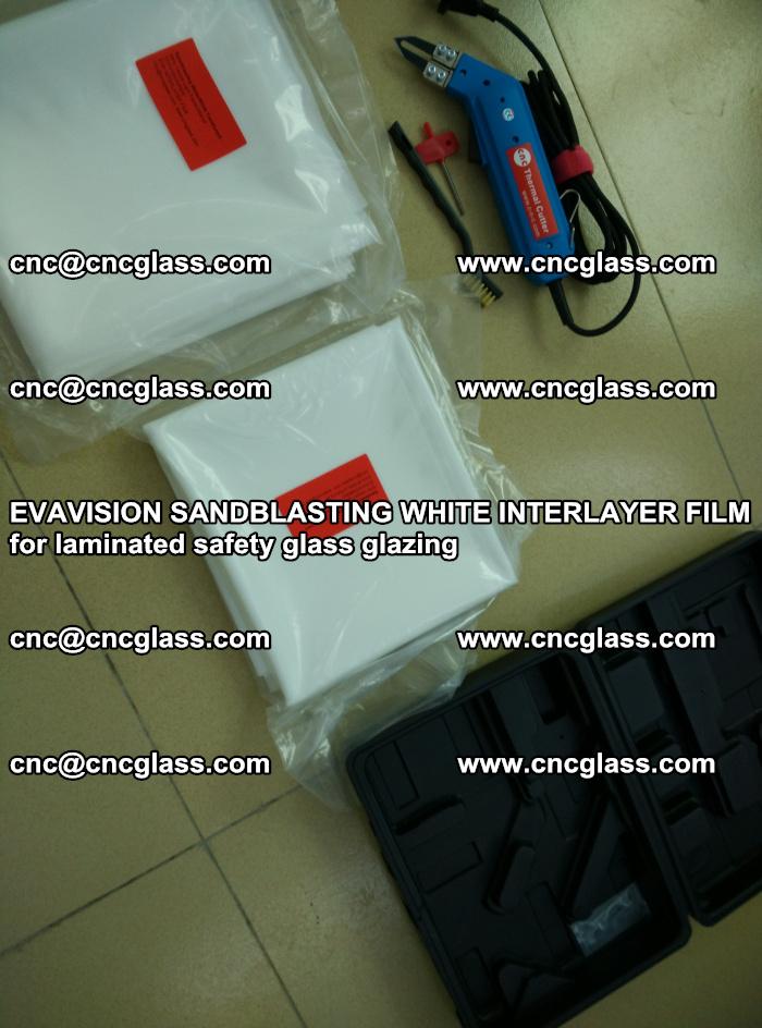 EVAVISION SANDBLASTING WHITE INTERLAYER FILM for laminated safety glass glazing (27)