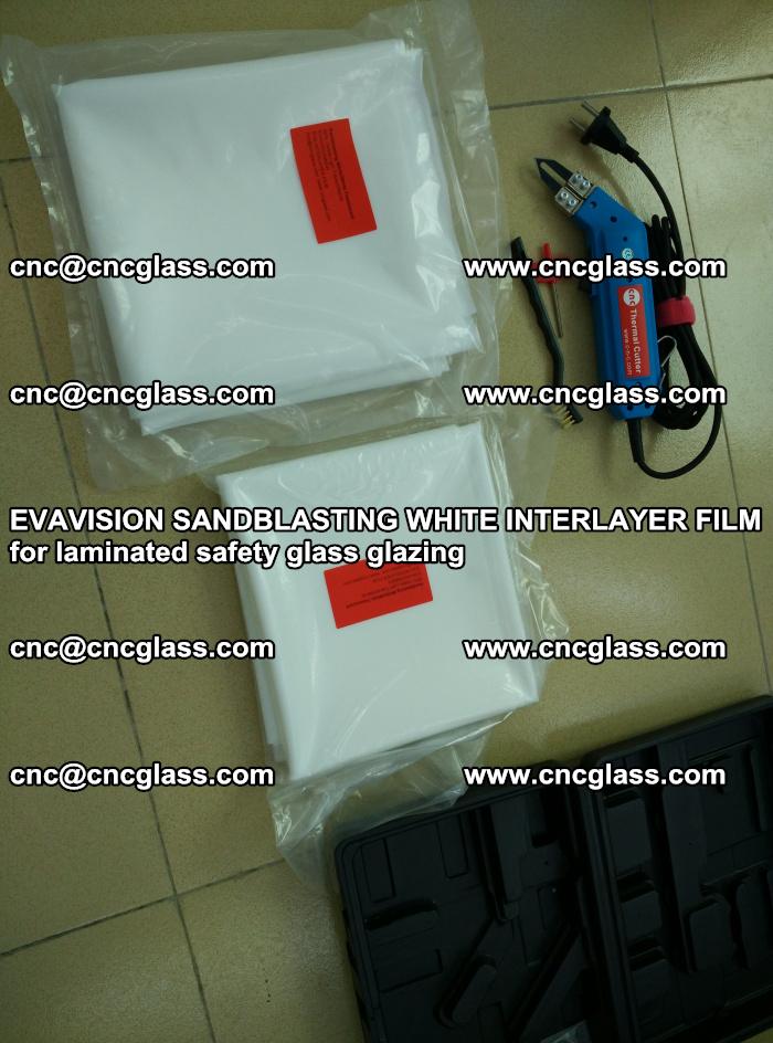 EVAVISION SANDBLASTING WHITE INTERLAYER FILM for laminated safety glass glazing (29)