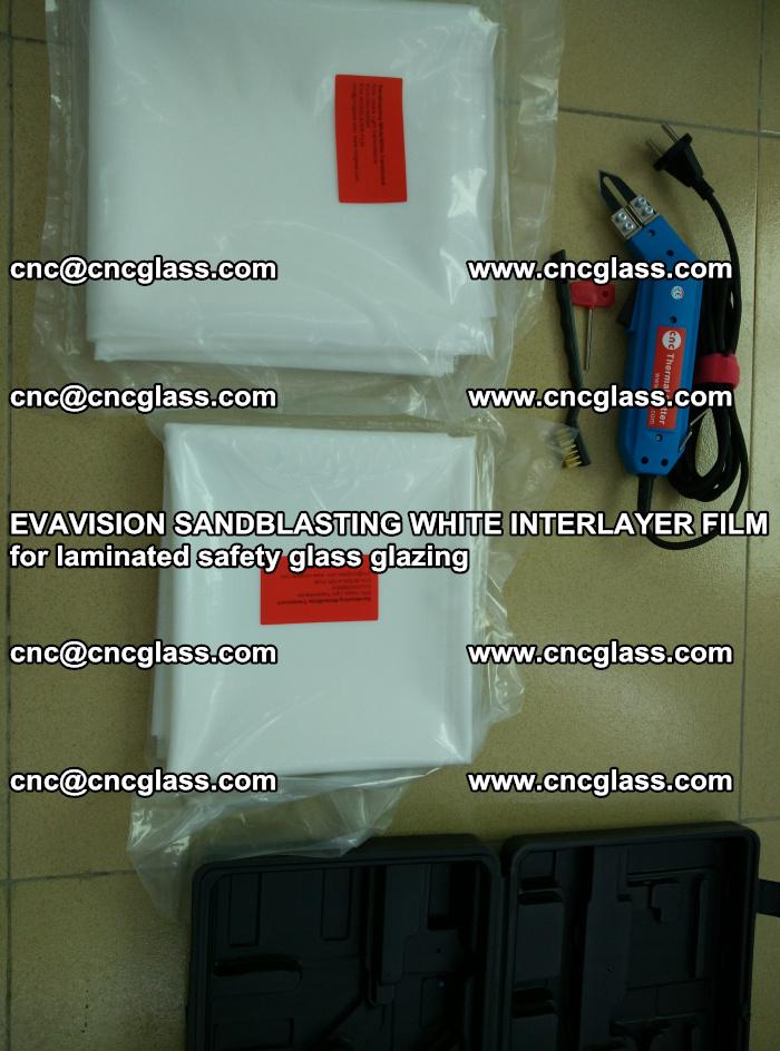EVAVISION SANDBLASTING WHITE INTERLAYER FILM for laminated safety glass glazing (36)