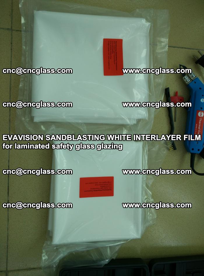 EVAVISION SANDBLASTING WHITE INTERLAYER FILM for laminated safety glass glazing (7)