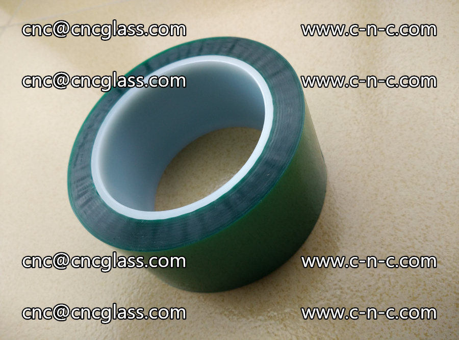 PET GREEN TAPE for laminated glass safety glazing (12)