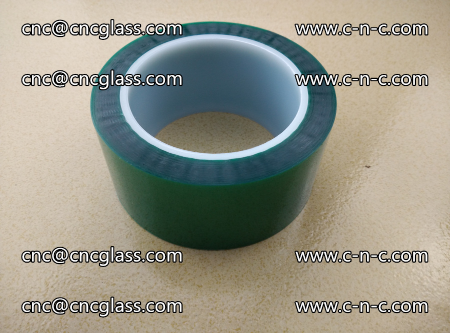 PET GREEN TAPE for laminated glass safety glazing (21)