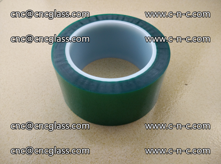 PET GREEN TAPE for laminated glass safety glazing (23)