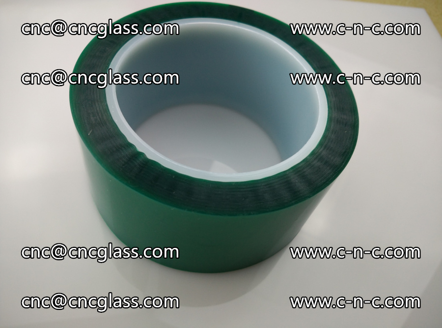 PET GREEN TAPE for laminated glass safety glazing (28)