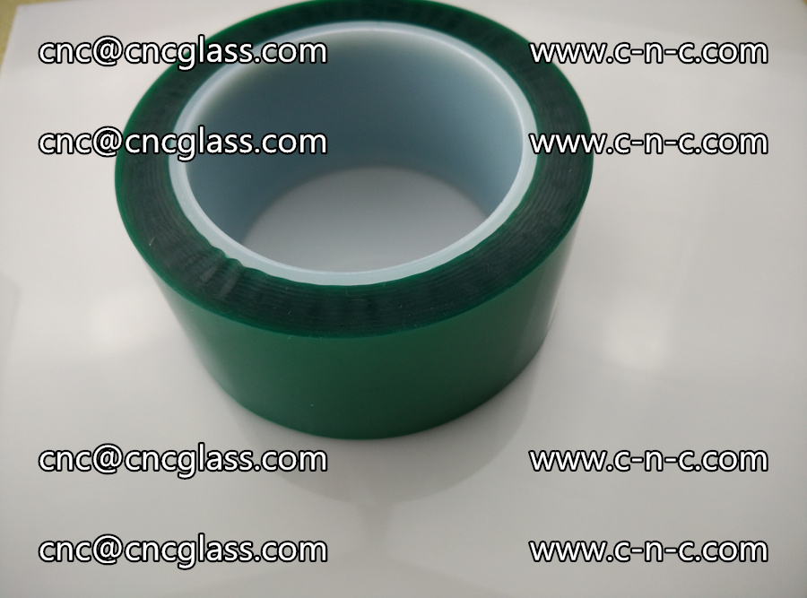 PET GREEN TAPE for laminated glass safety glazing (32)
