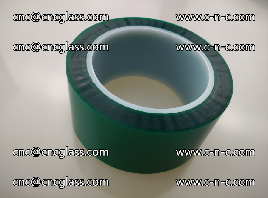 PET GREEN TAPE for laminated glass safety glazing (4)