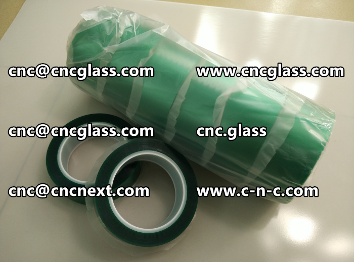 HIGH TEMP GREEN TAPE FOR GLAZING (10)