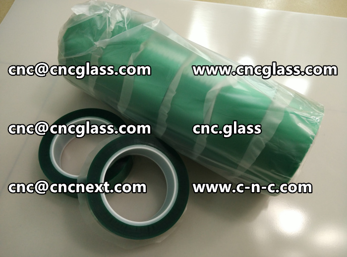 HIGH TEMP GREEN TAPE FOR GLAZING (11)