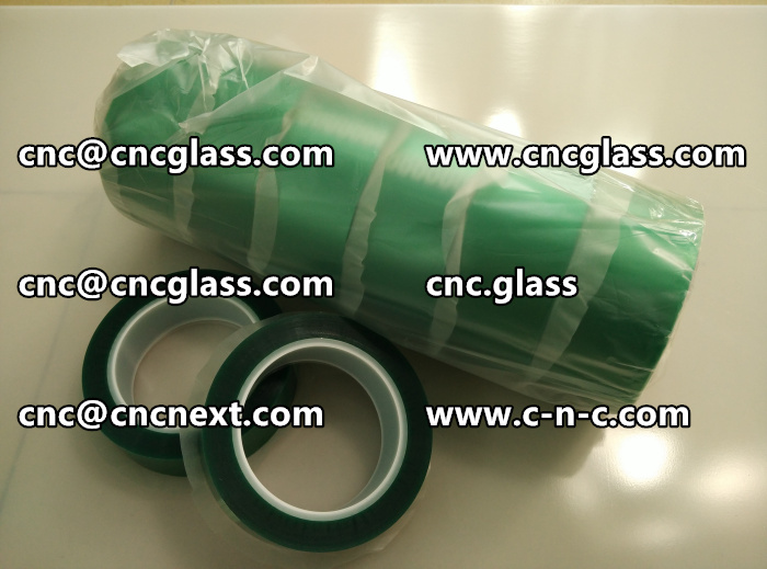 HIGH TEMP GREEN TAPE FOR GLAZING (12)