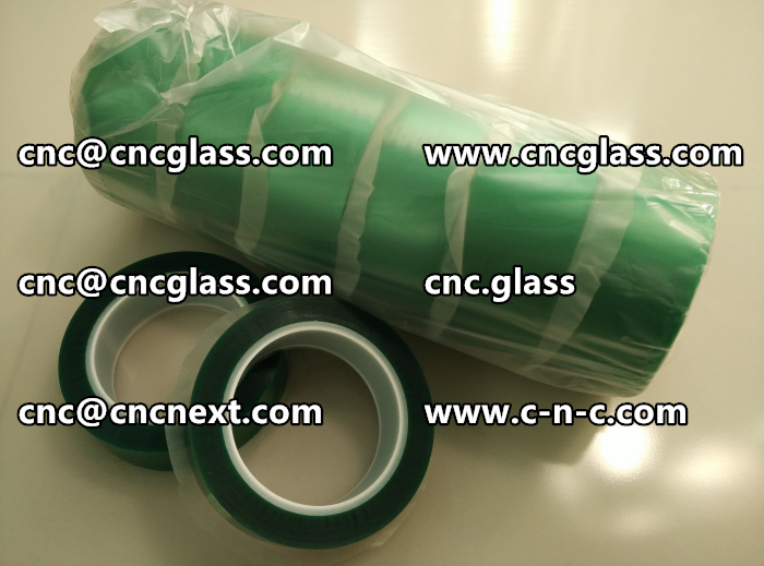HIGH TEMP GREEN TAPE FOR GLAZING (14)