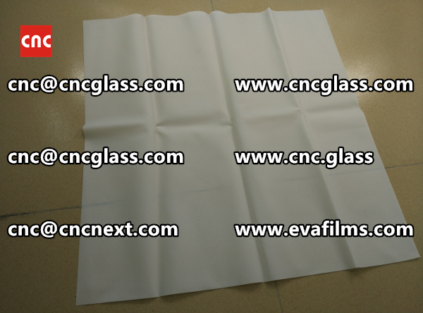 Laminated safety glass EVA-based densely cross-linked interlayer (12)