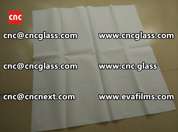 Laminated safety glass EVA-based densely cross-linked interlayer (13)