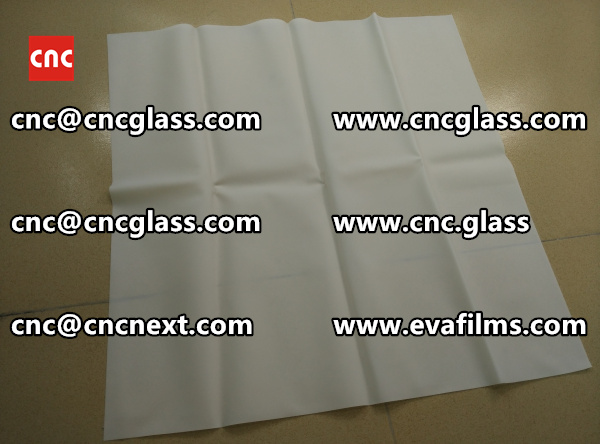 Laminated safety glass EVA-based densely cross-linked interlayer (14)