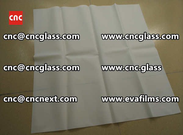 Laminated safety glass EVA-based densely cross-linked interlayer (15)