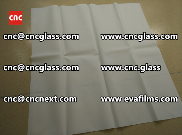 Laminated safety glass EVA-based densely cross-linked interlayer (17)
