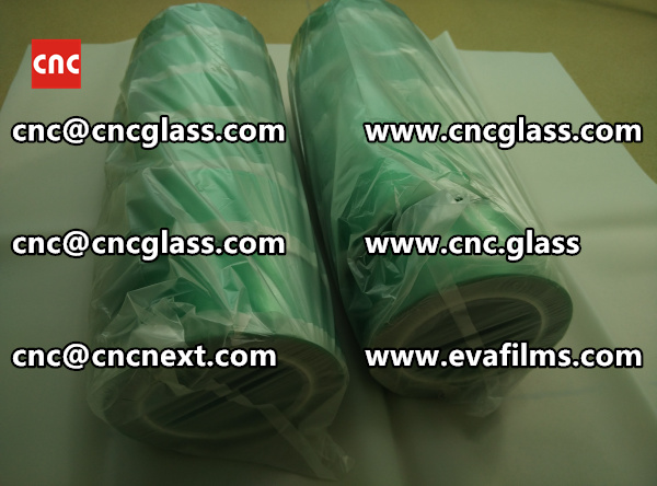HIGH TEMPERATURE PET GREEN TAPE for safety glazing  (3)