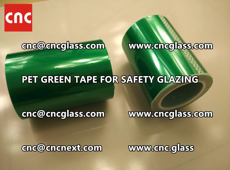 PET GREEN TAPE for eva film laminationglazing (2)
