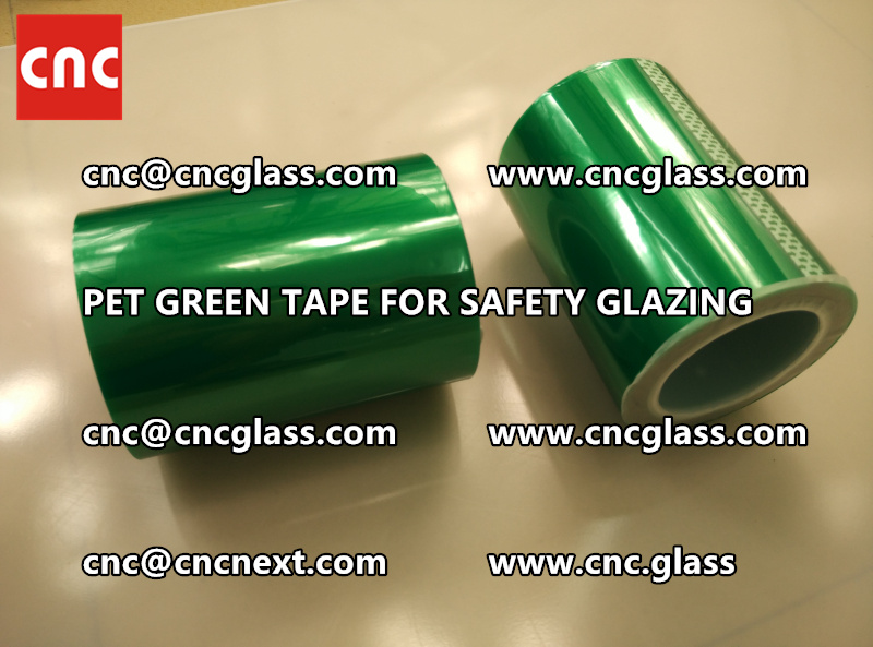 PET GREEN TAPE for eva film laminationglazing (3)
