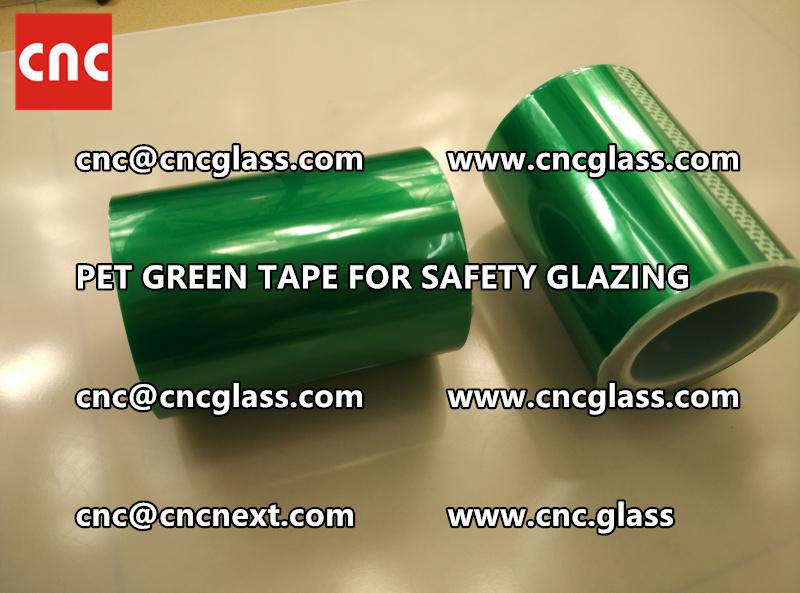 PET GREEN TAPE for eva film laminationglazing (4)