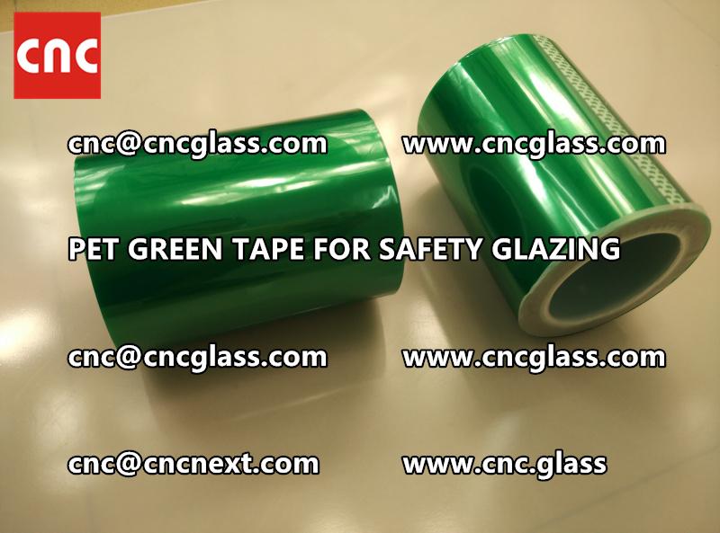 PET GREEN TAPE for eva film laminationglazing (5)
