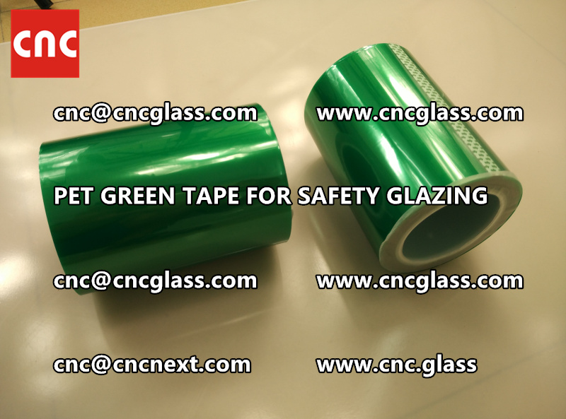 PET GREEN TAPE for eva film laminationglazing (6)