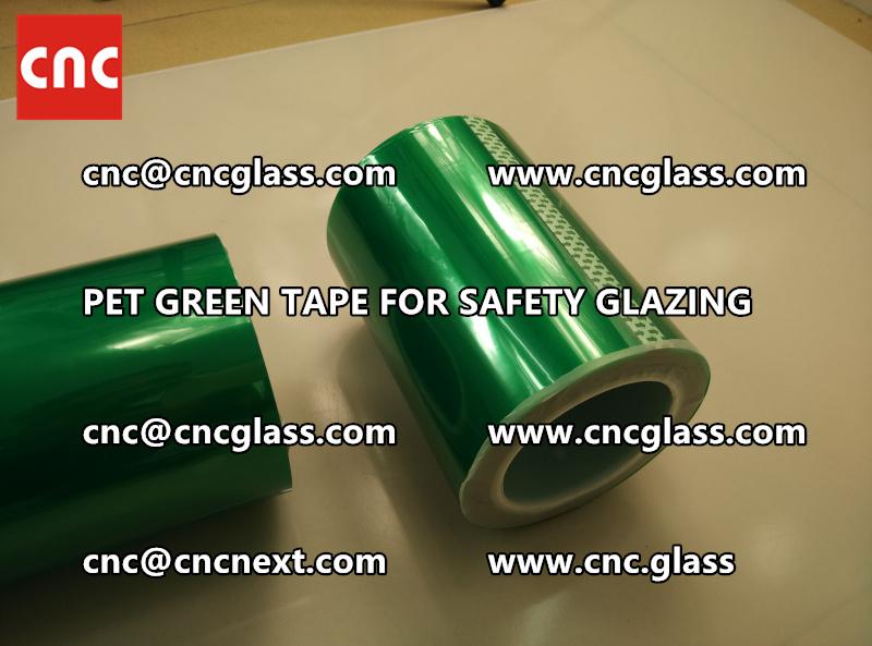 PET GREEN TAPE for eva film laminationglazing (7)