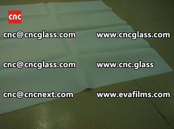 SAFETY GLASS INTERLAYER eva film samples (2)
