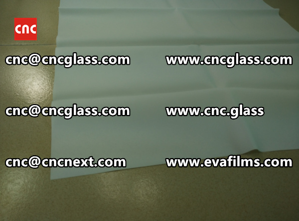 SAFETY GLASS INTERLAYER eva film samples (5)
