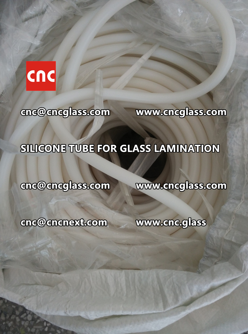 SILICONE TUBE for safety glass lamination vacuuming  (4)